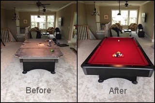 expert pool table recovering in Meridian content img3